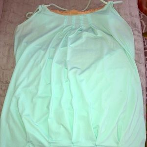 Lululemon Strappy Tank Top sz 10